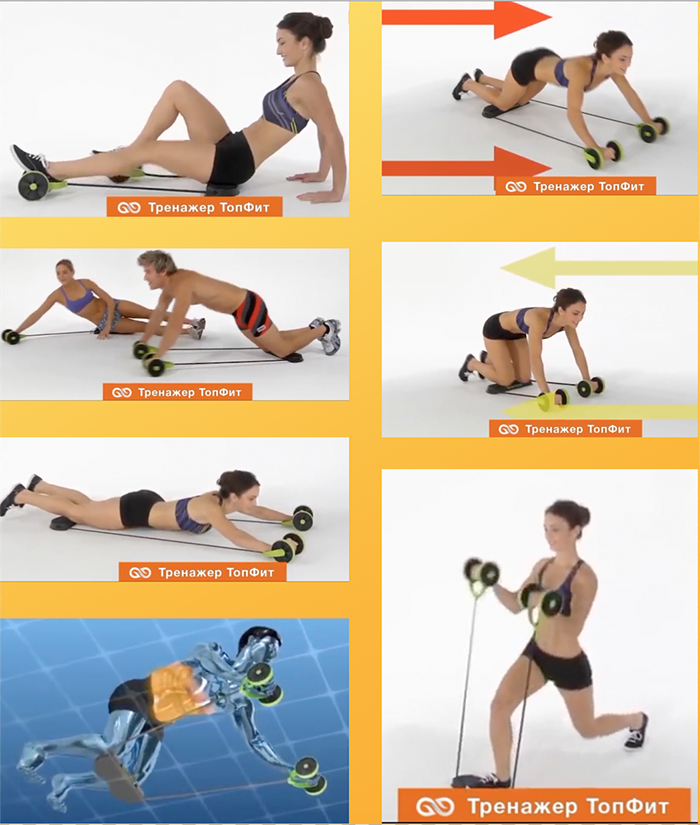 видео упражнения для тренажера кардио твистер